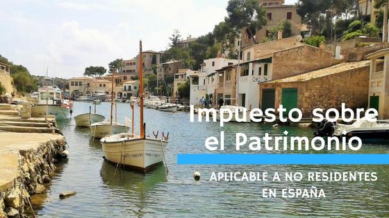 El Impuesto sobre el Patrimonio aplicable a no residentes en España (julio 2020)
