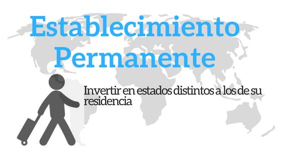 Concepto de establecimiento permanente en ordenamiento jurídico financiero-tributario (Marzo 2018)